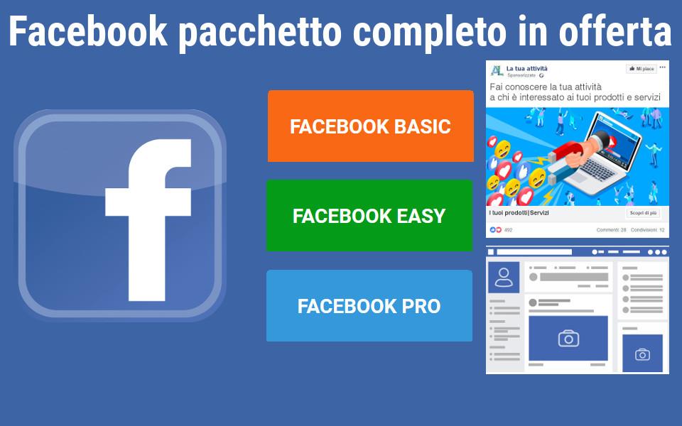 Pacchetto Facebook, più adatto alla tua attività-Padova