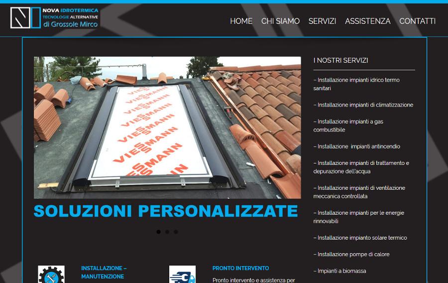 Realizzazione-sito-web-impianti-di-climatizzazione-Padova