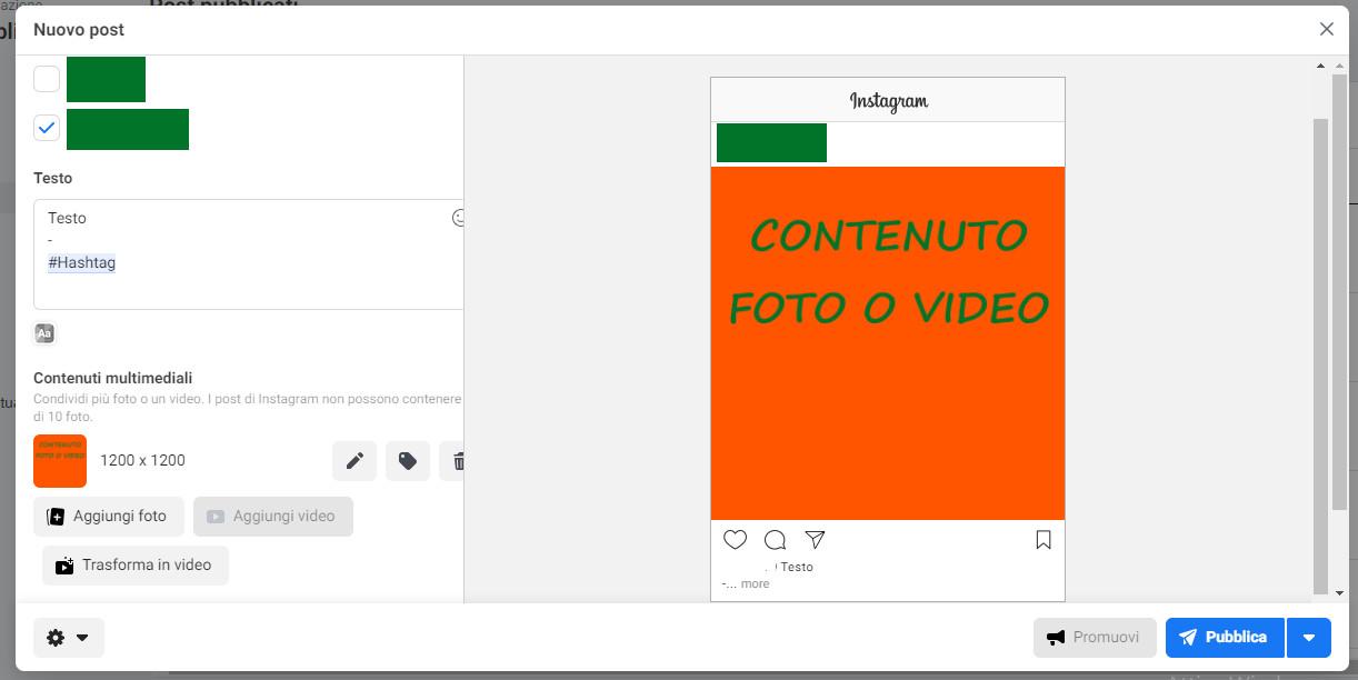 Come-pubblicare-su-Instagram-utilizzando-Facebook-dal-pc-istruzioni-6-Nuovo strumento per la creazione dei post