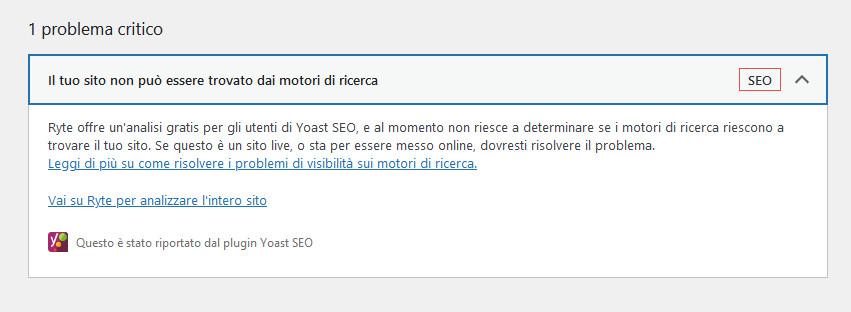 problema-critico-Wordpress-il-tuo-sito-non-può-essere-trovato-dai-motori-di-ricerca